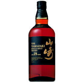 ウイスキー サントリー 山崎 18年 700ml (80-0)(13010) 洋酒 Whisky