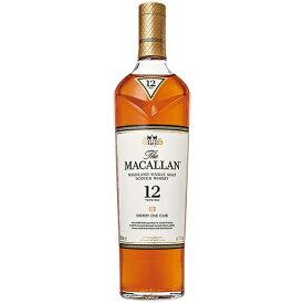 ウイスキー ザ マッカラン 12年 40度 700ml (70058☆) 洋酒 Whisky(32-3)