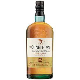 ウイスキー シングルトン オブ ダフタウン 12年 700ml (77569) 洋酒 Whisky(77-1)