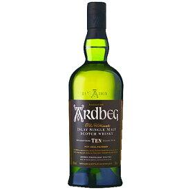ウイスキー アードベッグ TEN (10年) 箱付 700ml (34-5)(79571) 洋酒 Whisky あす楽
