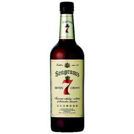 ウイスキー シーグラム セブン クラウン ブレンド 正規品 750ml (91354) 取寄 洋酒 Whisky(91-0)
