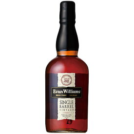 ウイスキー エヴァンウィリアムス シングル バレル 750ml (71055) 洋酒 Whisky(34-2)