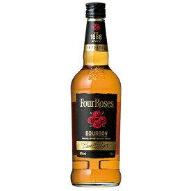 ウイスキー フォアローゼズ ブラック ラベル 700ml (21-4) フォアローゼス (71080) 洋酒 Whisky