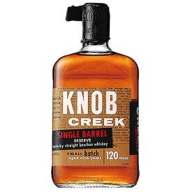 ウイスキー ノブクリーク シングルバレル リザーブ 9年 60度 750ml (71387) 洋酒 Whisky(35-3)