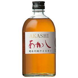 ウイスキー ホワイトオーク あかし レッド 500ml (16201) 洋酒 Whisky(77-3)