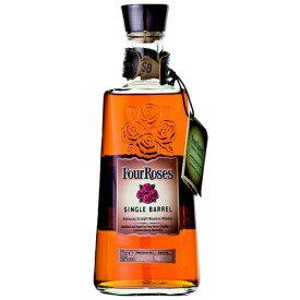 ウイスキー フォアローゼズ シングルバレル 50度 (角瓶) 700ml フォアローゼス (71094) 洋酒 Whisky(21-4)