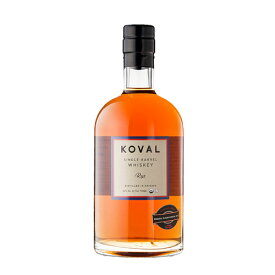 ウイスキー コーヴァル シングルバレル ウイスキー ライ 750ml (74-3)(71499) 洋酒 Whisky