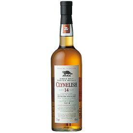 ウイスキー クライヌリッシュ 14年 正規品 700ml (97553) 洋酒 Whisky(27-6)