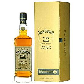 ウイスキー ジャックダニエル No.27 ゴールド 700ml (74-7)(71355) 洋酒 Whisky
