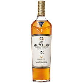 ウイスキー ザ マッカラン ダブルカスク 12年 700ml (70056) 洋酒 Whisky(32-3)