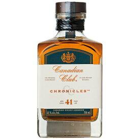 ウイスキー カナディアンクラブ 41年 750ml (70928) 洋酒 Whisky(74-3)