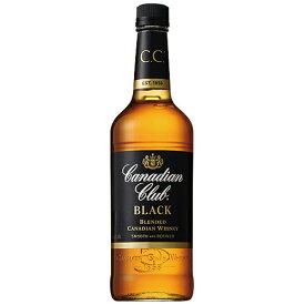 ウイスキー カナディアンクラブ ブラック ラベル 700ml (22-2)(70931) 洋酒 Whisky