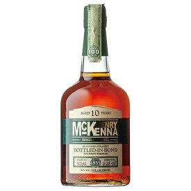 ウイスキー ヘンリー マッケンナ 10年 シングル バレル 750ml (71091) 洋酒 Whisky(34-3)