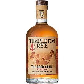 ウイスキー テンプルトン ライ 4年 750ml (71341) 洋酒 Whisky(74-3)