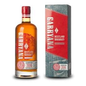 ウイスキー ウエストランド ギャリアナ 2016 750ml (71538) 洋酒 Whisky(74-1)