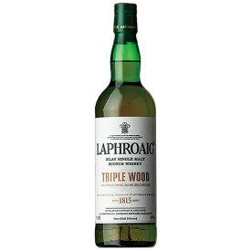 ウイスキー ラフロイグ トリプル ウッド 700ml (77942) 洋酒 Whisky(35-3)