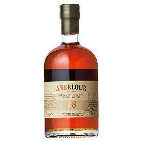 ウイスキー アベラワー 18年 ダブル マチュアード 500ml (79838) 洋酒 Whisky(35-5)