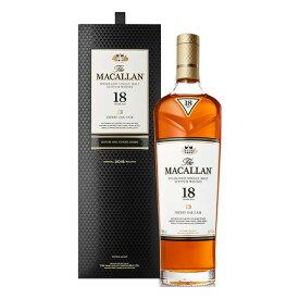 ウイスキー ザ マッカラン 18年 正規品 700ml (32-3)(90059) 洋酒 Whisky