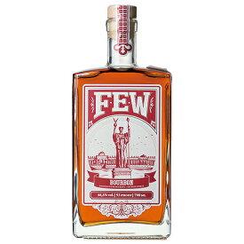 ウイスキー FEW (ヒュー) バーボンウイスキー 700ml (71492) 洋酒 Whisky(74-3)