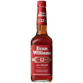 ウイスキー エヴァンウィリアムス 12年 レッド 750ml (71065) 洋酒 Whisky(21-3)