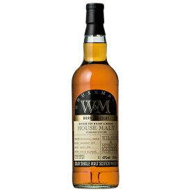 ウイスキー ウィルソン&モーガン(W&M) ハウスモルト アイラ 700ml (79979) 洋酒 Whisky(77-5)
