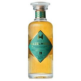 ウイスキー ハウス オブ ヘーゼルウッド 21年 500ml (79621) 洋酒 Whisky(77-5)