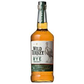 ウイスキー ワイルドターキー ライ 40.5度 700ml (71311) 洋酒 Whisky(21-4)