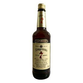ウイスキー シーグラム セブン クラウン ブレンド 750ml (71354) 洋酒 Whisky(35-5)