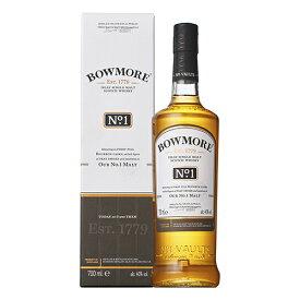 ウイスキー ボウモア ナンバーワン (No.1) 700ml 箱付 (79441)(33-3) 洋酒 Whisky