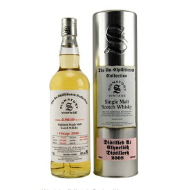 ウイスキー シグナトリーヴィンテージ(SV) クライヌリッシュ 2008 10年 アンチルフィルタード 700ml (77-5)(78016) 洋酒 Whisky