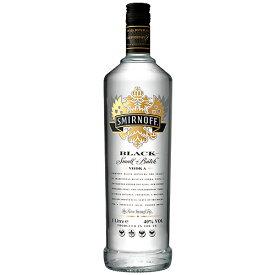 ウォッカ スミノフ ブラック 700ml (25-2)(73523) スピリッツ vodka