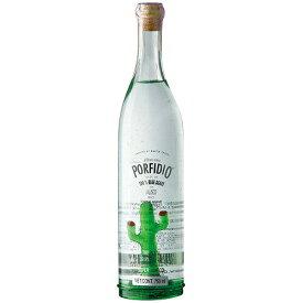 テキーラ ポルフィディオ テキーラ プラタ 緑色サボテン入り 750ml (26-5)(73643) スピリッツ tequila