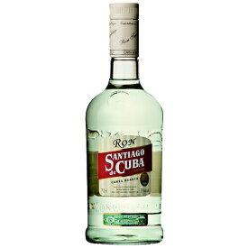 ラム サンチアゴ デ クーバ カルタブランカ 700ml (73822) スピリッツ rum(73-6)