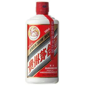 中国酒 貴州 茅台酒 (マオタイ酒、飛天牌) 500ml (75022)(51-0)