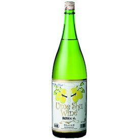 ワイン 梅酒 麻原酒造 梅酒ワイン 白 1800ml (30607) うめ酒 果実酒 wine(78-7)