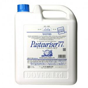 消毒液 消毒薬 Dover ドーバー パストリーゼ77 (消毒用アルコール)詰替え用 5000ml(5リットル) (59089☆)(38-0)