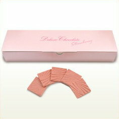 「デラックスチョコレート 薄板いちご」内容量 159g(標準30枚入)期間限定 数量限定 有楽製菓