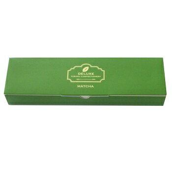 新発売「デラックスチョコレート 薄板抹茶」内容量 165g(標準30枚入)期間限定 数量限定 有楽製菓