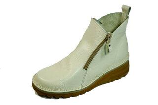 ショートブーツ痛くない疲れない靴外反母趾高級感厚底歩きやすい日本製本革両ファスナー痛くない靴疲れない靴黒本革レディース靴ショートぺたんこyurikomatsumoto