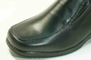 立ち仕事靴婦人革靴疲れない靴痛くない靴らくらくモールド・エアークッション底カジュアル革シューズ【送料無料】歩いても疲れない靴