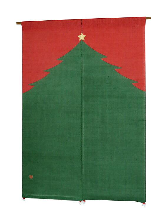 風音暖簾(のれん):クリスマスツリー