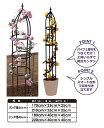 第一ビニール ローズオベリスク リング径40cm×高さ220cm