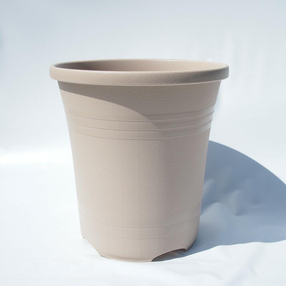 大和プラ販 ローズガーデンポット 30型 オーカーベージュ 直径30cm 10号 バラ専用植木鉢