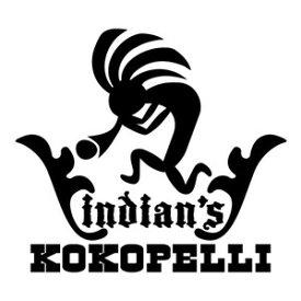 【インディアンズ ココペリ05 ダンスバージョン カッティングステッカー 2枚組 高さ約15cm×横16.5cm】カラー:白、黒、ハンドメイド インディアン ココペリKOKOPELLI