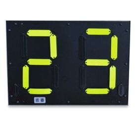 【デジスコボード DS-101】シンプルな構造の硬式テニス用スコアボード、手動式、テニス 試合 主催者向け、スコアボード、テニスクラブ用、テニス大会用、 硬式テニス スコア(D)【GOOP】
