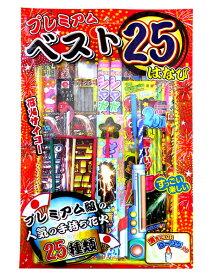 プレミアムベスト25はなび【手持ち花火セット】