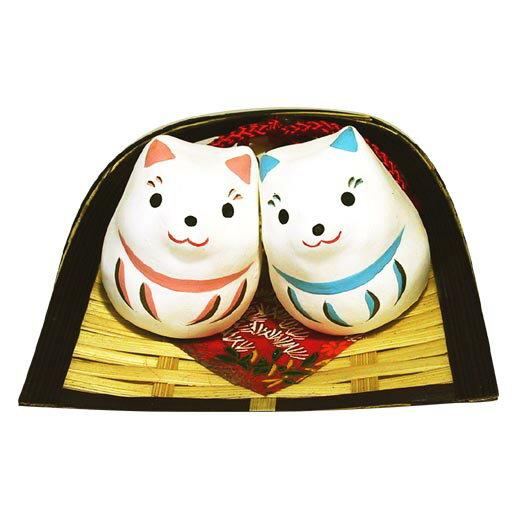 ミニ福々戌【干支 置物】【戌・いぬ・イヌ・犬】【紙張子】【お正月飾り】 【RCP】