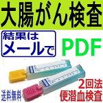 郵送型大腸がん検査(便潜血検査・2日法)