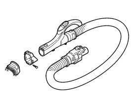 【送料無料】掃除機ホース Panasonic パナソニック AMV94P-GD0K [AMV94P-GD0H の代替品 コモンブラック メタリックピンク] 掃除機 ホース管 ※取寄せ品