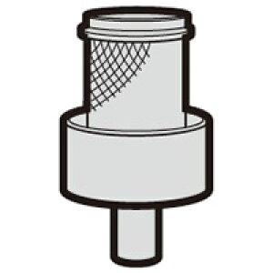 シャープ 掃除機用 筒型フィルター(217 221 0568)[SHARP 純正 正規品 交換 部品 パーツ  新品 新しい フィルター]※取寄せ品